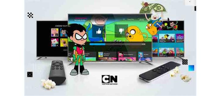 You.i TV Adapts Cartoon Network App for OTT