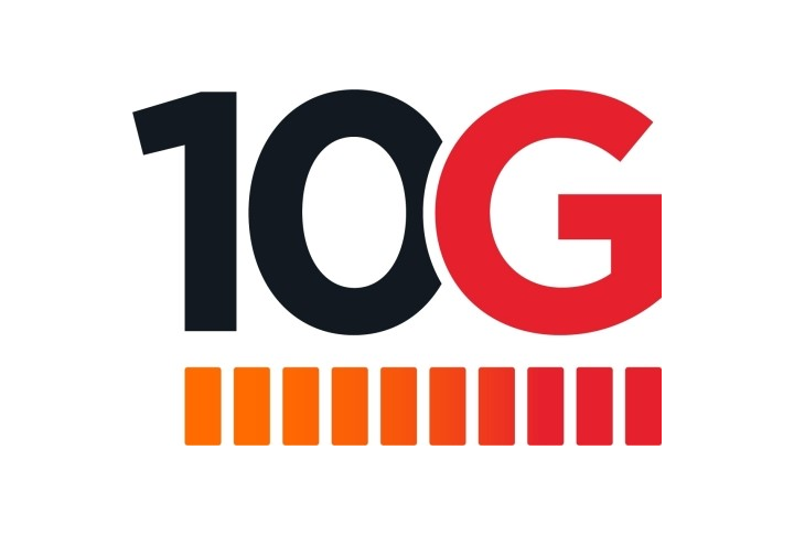 10 G Logo